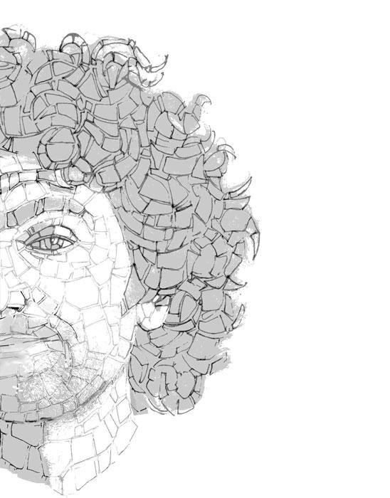 Mohamed Chabarik - mosaicisti del friuli