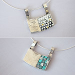 """Gioielli in mosaico: dalla collezione Gioielli CC, """"Duo #8"""", pendente double-face"""