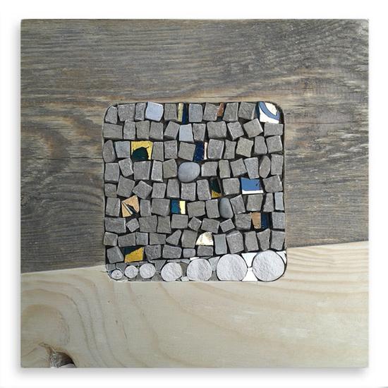 Quadri in mosaico - collezione 20Quadro: mosaici in legno di riciclo