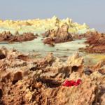 mosaico interattivo tessere rosse di Carraro Chabarik