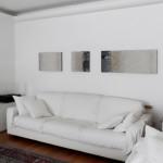"""Laura Carraro, """"Evoluzione"""" (Evolution), 2013. 40 x 200 cm ca."""