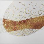 """progetto di Mohamed Chabarik, """"Fuoco"""", 2017. 100 x 70 cm."""