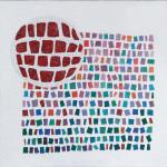 """Mohamed Chabarik, """"La poetica della scienza"""", 2018. 120 x 120 cm. Opere vincitrice del concorso per l'ospedale S. Chiara di Trento"""