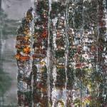 """""""Abstract painting 1992/a, omaggio a Richter"""", 2010. Realizzata presso Scuola Mosaicisti del Friuli con Emilie Baudrais. 85 x 100 cm"""