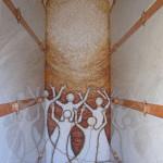 """""""Anime Salve"""", 2006. Monumento funebre a Rodeano (Ud). Collaborazione con Alessandra Lizzi"""
