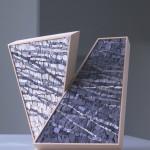 """""""L'integrazione"""", 2009. Opera realizzata per Scuola Mosaicisti del Friuli su progetto di Stefano Jus. 30 x 30 cm"""