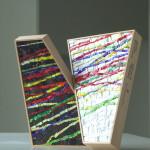 """""""L'integrazione"""", 2009. Realizzata per Scuola Mosaicisti del Friuli su progetto di Stefano Jus. 30 x 30 cm"""