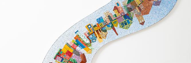 """""""?"""": un contenitore per le storie che il mosaico racconterà"""