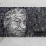Mohamed Chabarik, ritratto di Antonio Cendamo, 2015. 40 x 20 cm ca.