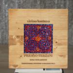 Targa per il premio Terzani - festival Vicino Lontano, Udine, dal 2012. 25 x 25 cm