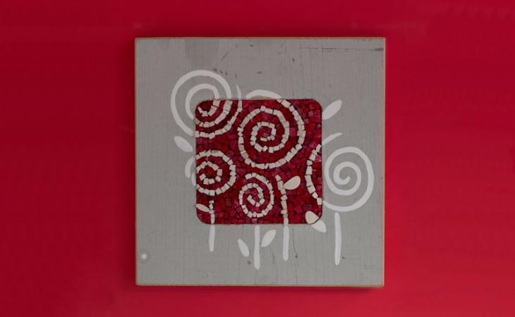 collezione di piccoli mosaici, foto di Omar Akkad