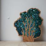 """Alberi in mosaico: dalla collezione """"Foresta Salva"""", 2015"""