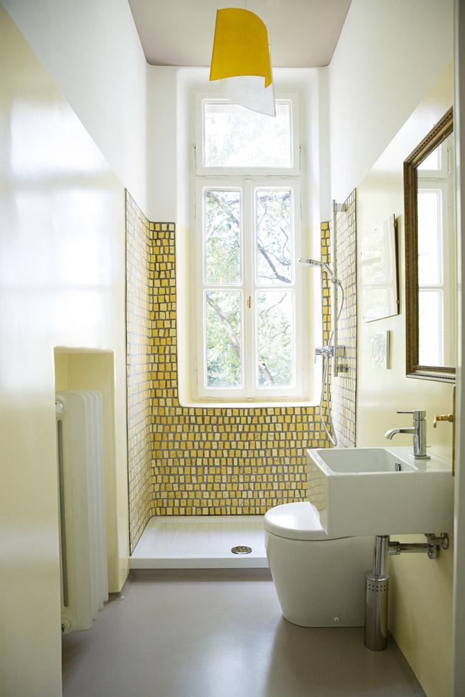 Rivestimenti in mosaico parietali e inserti per pavimenti