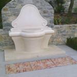 Inserti pavimentali esterni, 2012. Villa privata, Castiglioncello (Li)