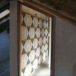 Rivestimento parietale con marmi e cocciopesto, 2008. Villa privata, Cortina d'Ampezzo (Bl)