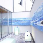 Pavimento della Volksbank, Graz - Austria, 2010. In collaborazione con Scuola Mosaicisti del Friuli, progetto di Cristina De Leoni.,