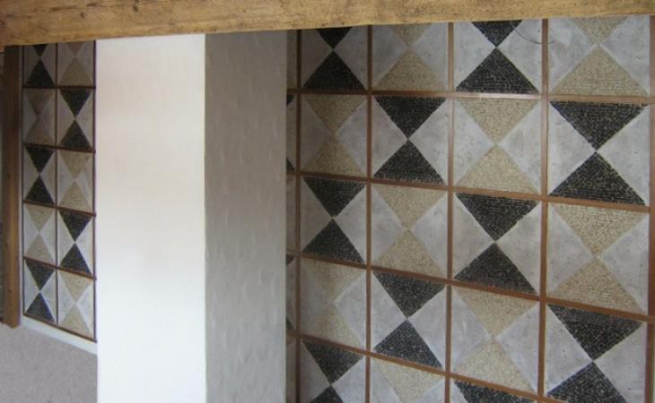 Rivestimenti in mosaico parietali e inserti per pavimenti for Mosaici e marmi per pavimenti e rivestimenti