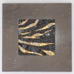 Marmo e Mosaico: Mrmr con base in Chocolate brown