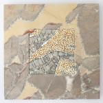 Marmo e Mosaico: Mrmr con base in Breccia pernice