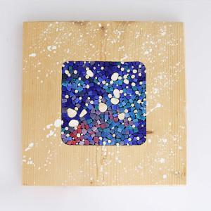 mosaico e legno, collezione 20Quadro di Carraro Chabarik