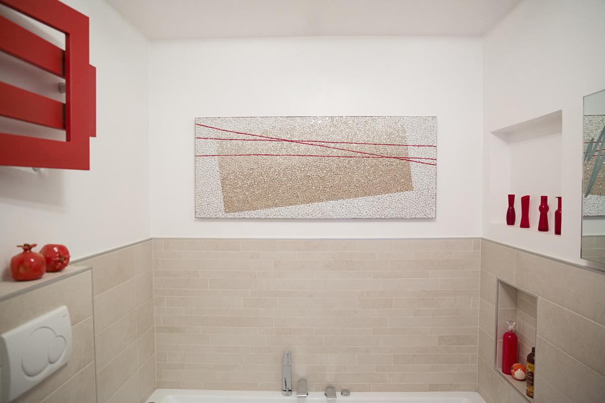 mosaico personalizzato: quadro in mosaico artistico fatto su misura per un ambiente