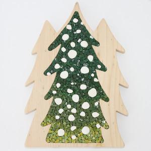 alberi natalizi mosaico carraro chabarik