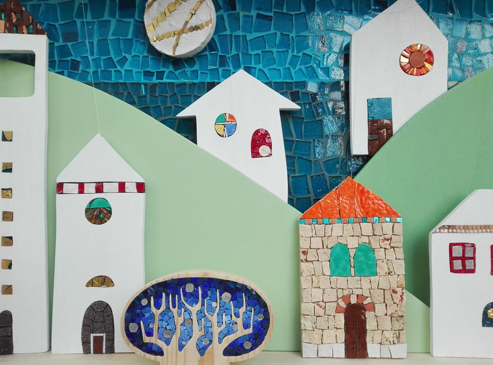 teatrino mosaico case villaggio