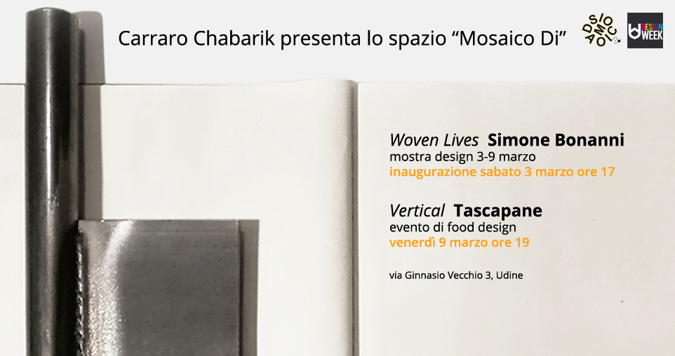 carraro chabarik per udine design week