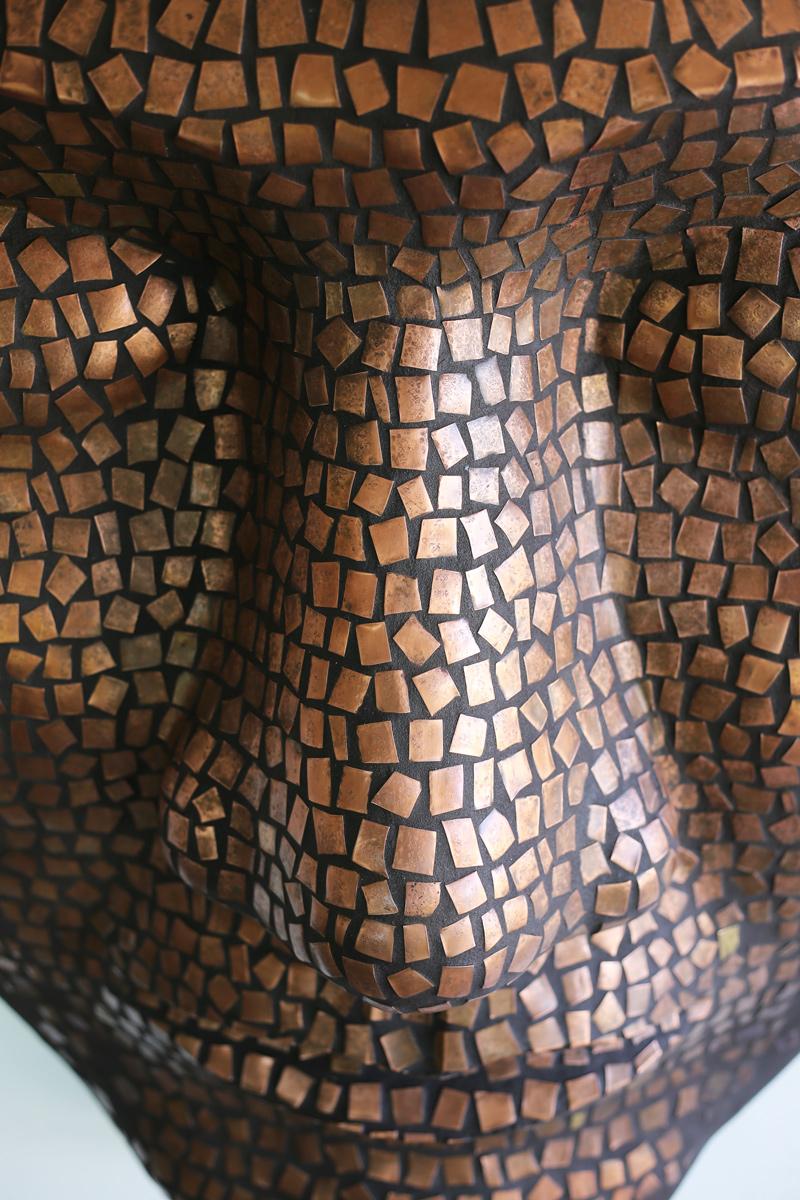 opera arte contemporanea Mohamed Chabarik volti