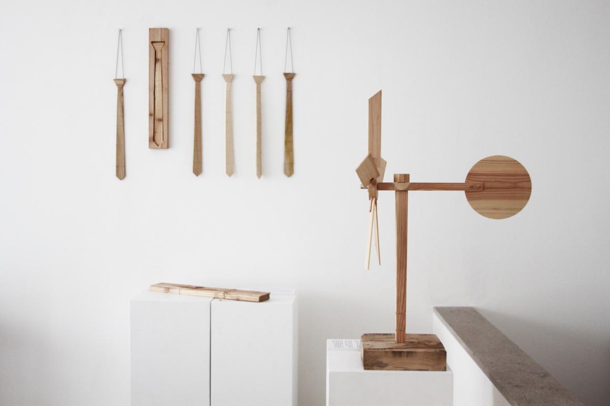 oggetti artigianali in legno di Alessandro Pasquali