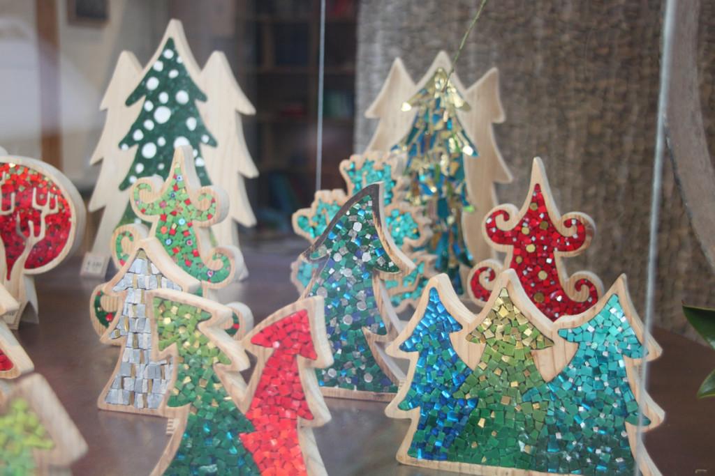 idee Natale in mosaico
